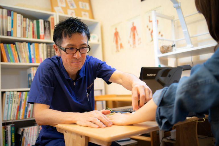 自律神経の測定|北上市の齊藤はりきゅう整骨院