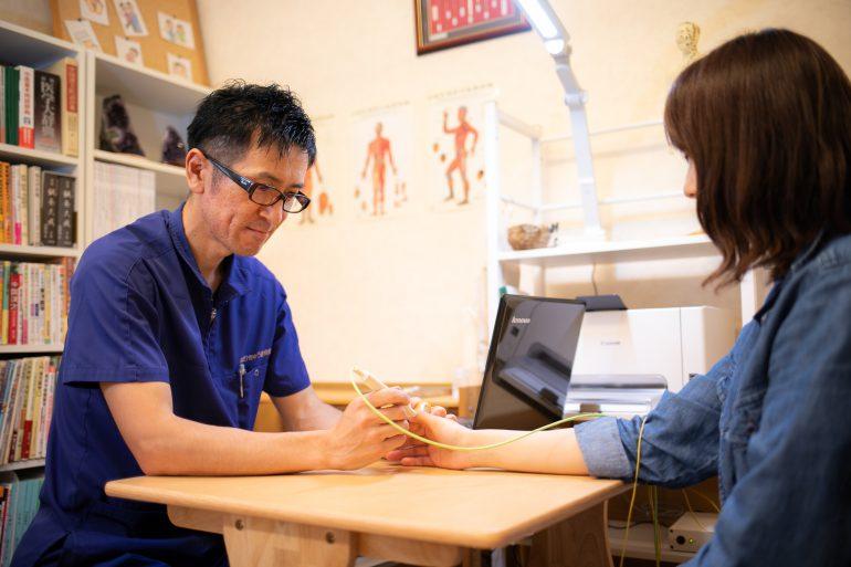 自律神経の乱れを測定|北上市の齊藤はりきゅう整骨院