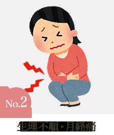 生理不順・月経痛